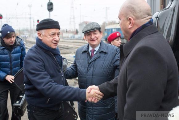 В Пензе Владимиру Спивакову устроили бурную овацию